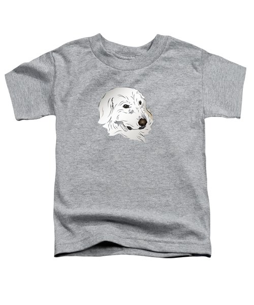 Great Pyrenees Dog Toddler T-Shirt