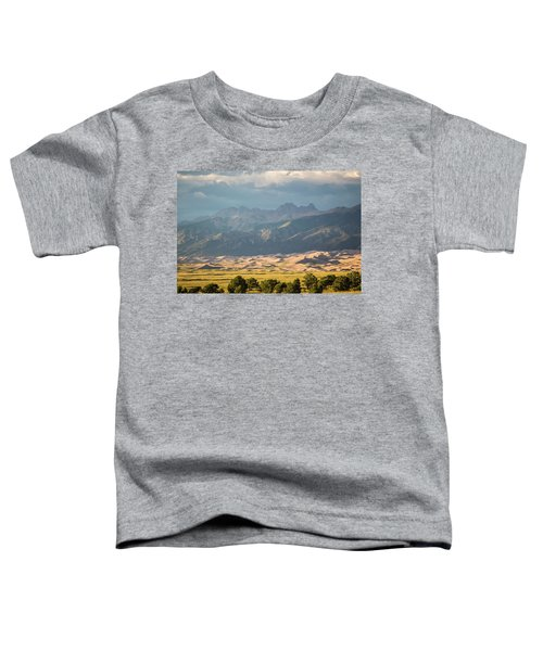 Toddler T-Shirt featuring the photograph Great Sand Dunes Colorado 2 by Whit Richardson