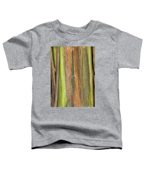 Toddler T-Shirt featuring the photograph Green Bark 3 by Werner Padarin