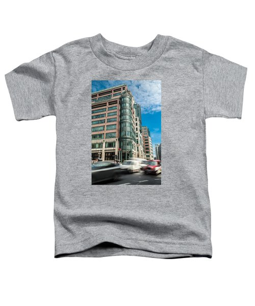 Green Building On Liverpool Metro Station London Toddler T-Shirt