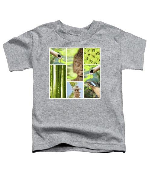 Green Collage Toddler T-Shirt