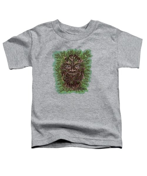 Green Man Of The Forest Toddler T-Shirt