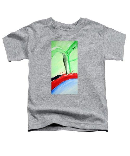 Green Tree Red Ridge Toddler T-Shirt