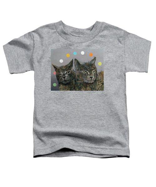 Grey Cats Toddler T-Shirt