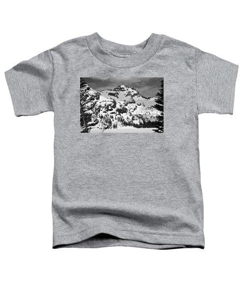 Grey Wolf Peak, Mission Mountains Toddler T-Shirt