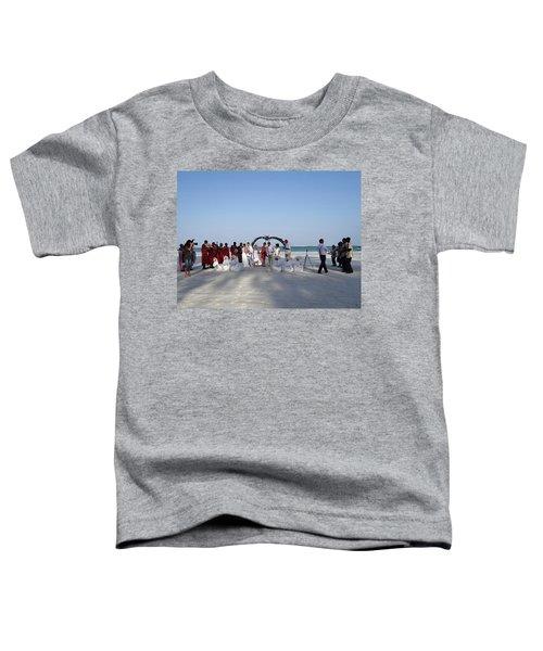 Group Wedding Photo Africa Beach Toddler T-Shirt