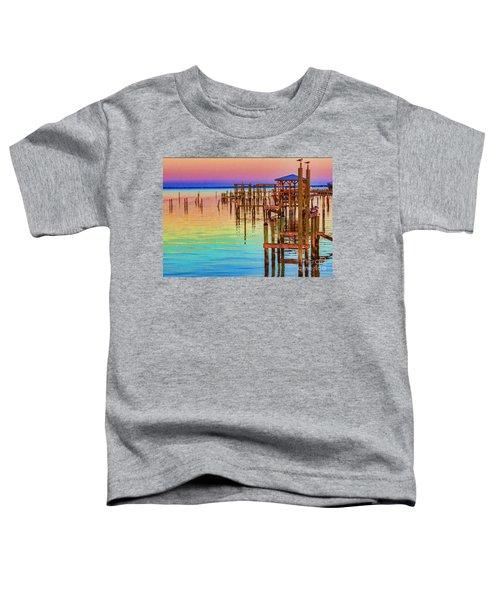 Guarding The Dock Toddler T-Shirt