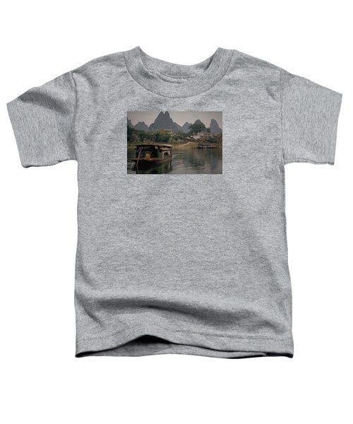 Guilin Limestone Peaks Toddler T-Shirt by Travel Pics