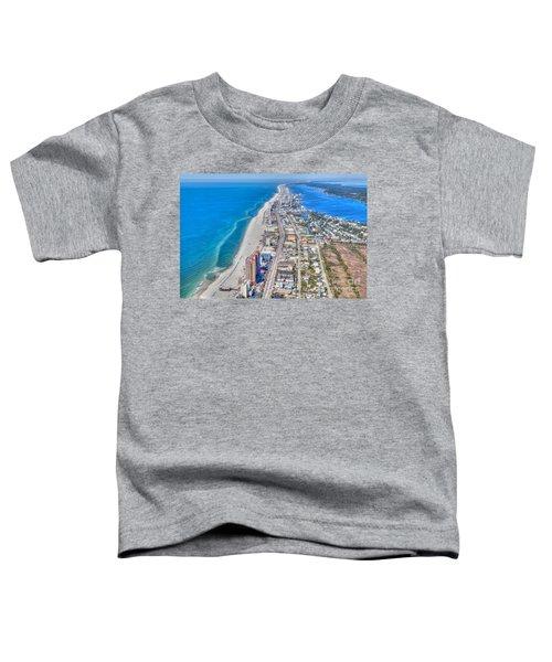 Gulf Shores Beach Looking W Toddler T-Shirt