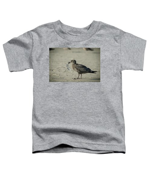 Gull And Feather Toddler T-Shirt