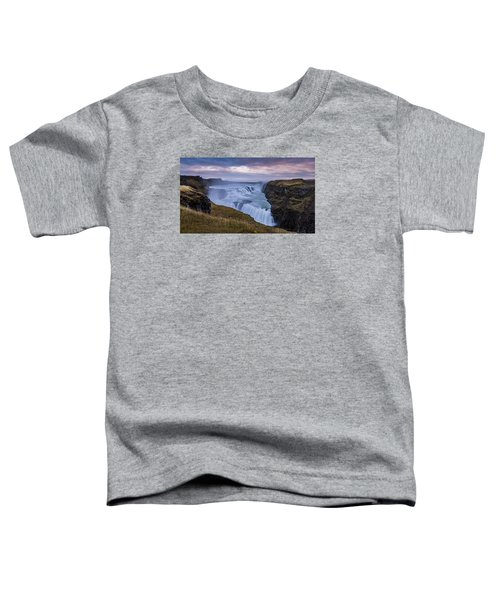 Gullfoss, Sunrise Toddler T-Shirt