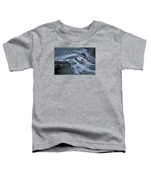 Gullfoss Waterfall #6 - Iceland Toddler T-Shirt