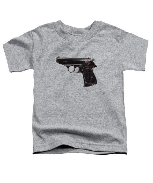 Gun - Pistol - Walther Ppk Toddler T-Shirt