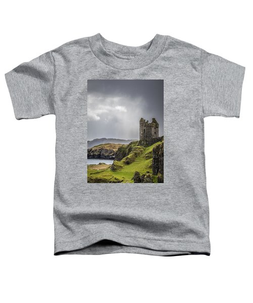 Gylen Castle On Kerrera In Scotland Toddler T-Shirt