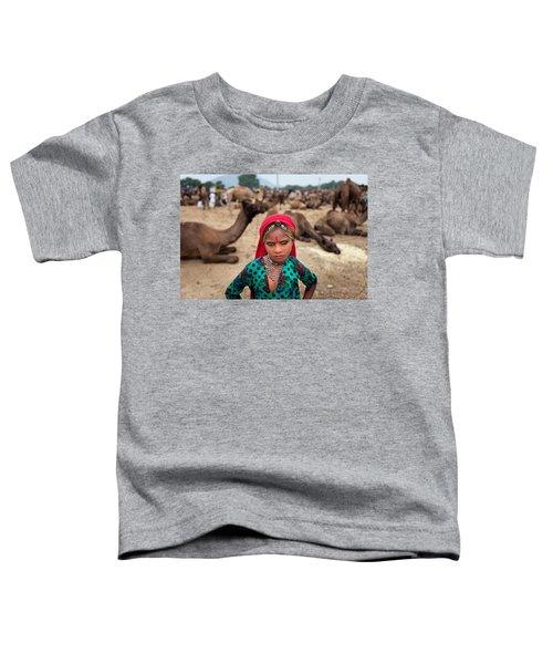 Gypsy Girl Toddler T-Shirt