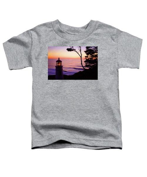 Haceta Head Lighthouse Toddler T-Shirt