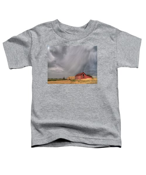 Hail Shaft And Montana Barn Toddler T-Shirt