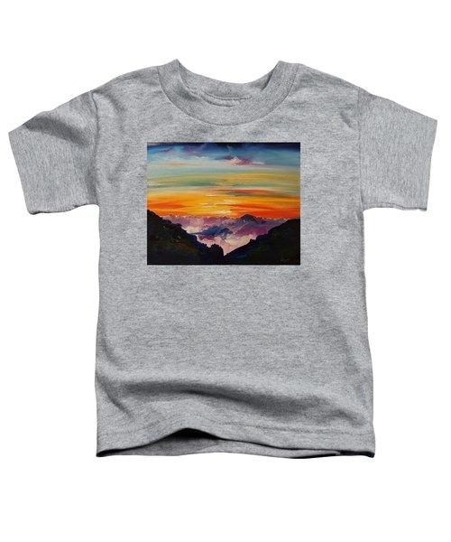 Haleakala Volcano Sunrise In Maui      101 Toddler T-Shirt