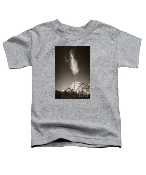Half Dome And Cloud Toddler T-Shirt
