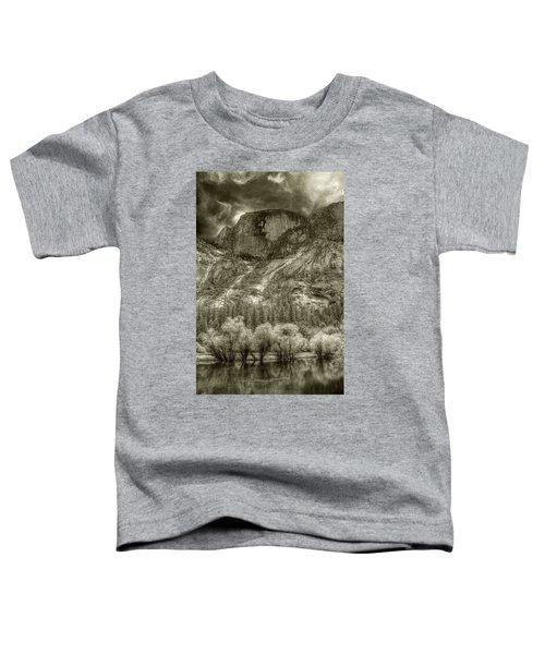Half Dome Over Mirror Lake Toddler T-Shirt