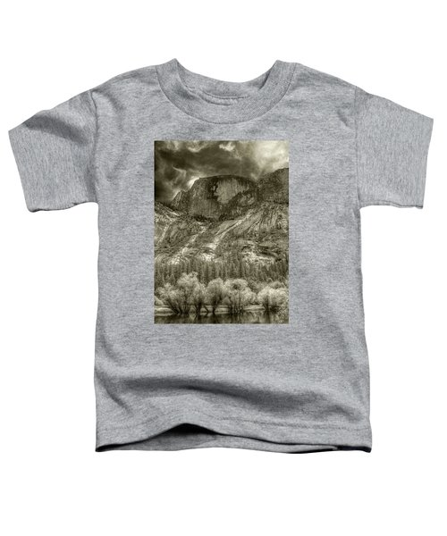 Half Dome Over Mirror Lake Toddler T-Shirt
