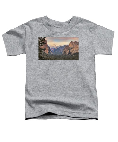Yosemite Sunset Toddler T-Shirt