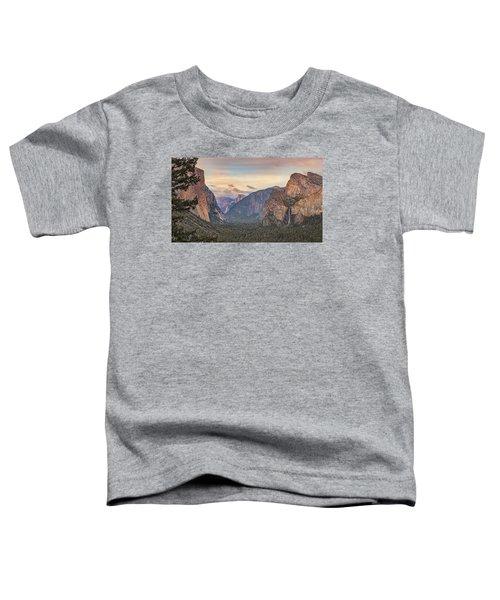 Yosemite Sunset Toddler T-Shirt