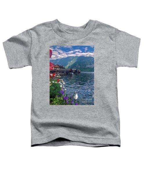 Hallstatt Swan Toddler T-Shirt