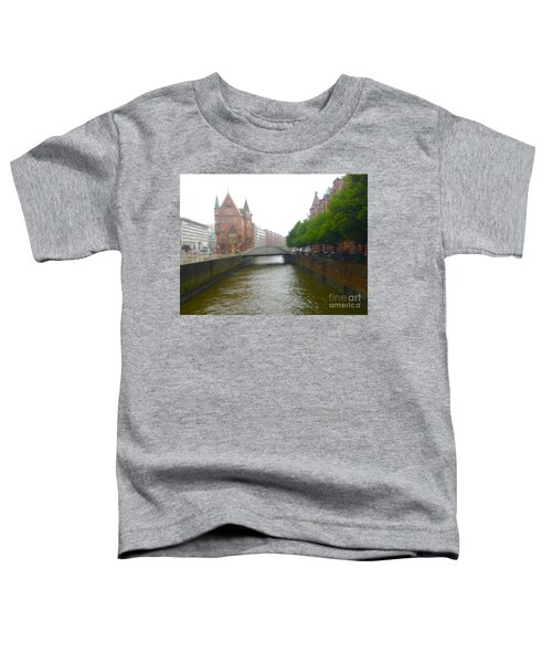 Hamburg Germany Canal Toddler T-Shirt