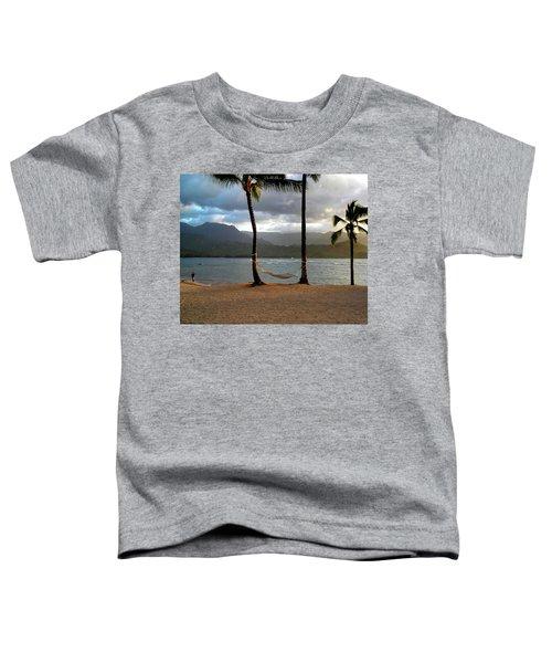 Hammock At Hanalei Bay Toddler T-Shirt