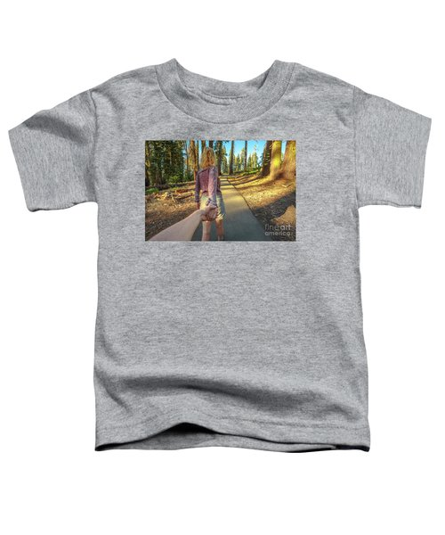 Hand In Hand Sequoia Hiking Toddler T-Shirt