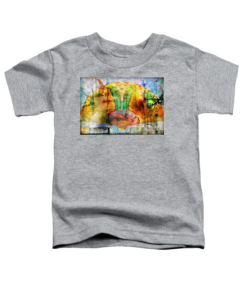 Handheld Fan Toddler T-Shirt