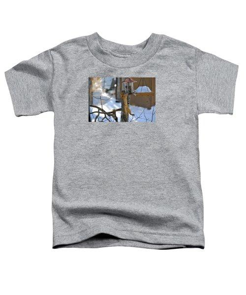 Hanging Squirrel Toddler T-Shirt