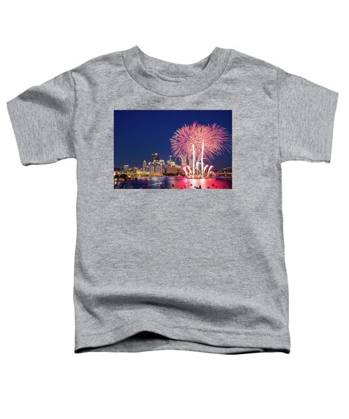 Happy 4th  Toddler T-Shirt