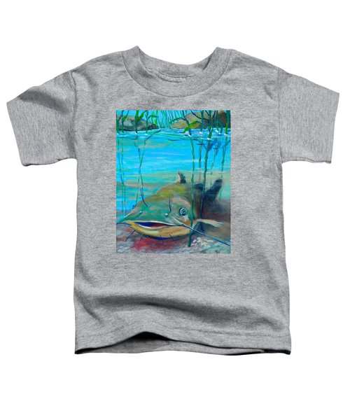 Happy Catfish Toddler T-Shirt