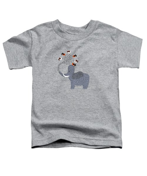 Happy Elephant Toddler T-Shirt