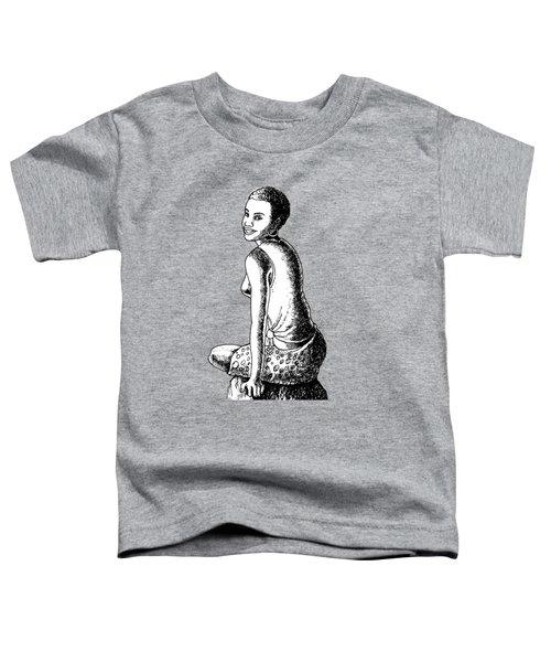 Happy Girl Toddler T-Shirt