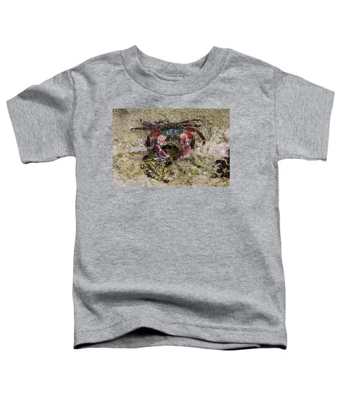 Happy Little Crab Toddler T-Shirt