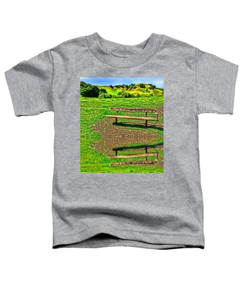 Happy Place Toddler T-Shirt
