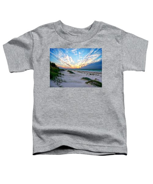 Harbor Island Sunset Toddler T-Shirt