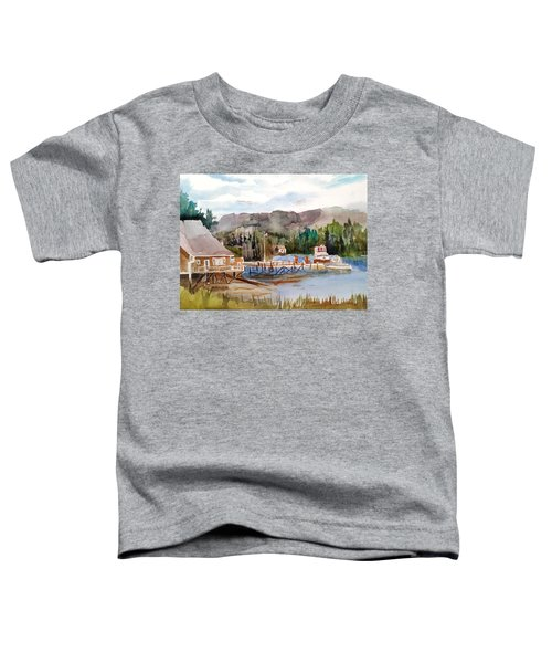 Harbour Scene Toddler T-Shirt