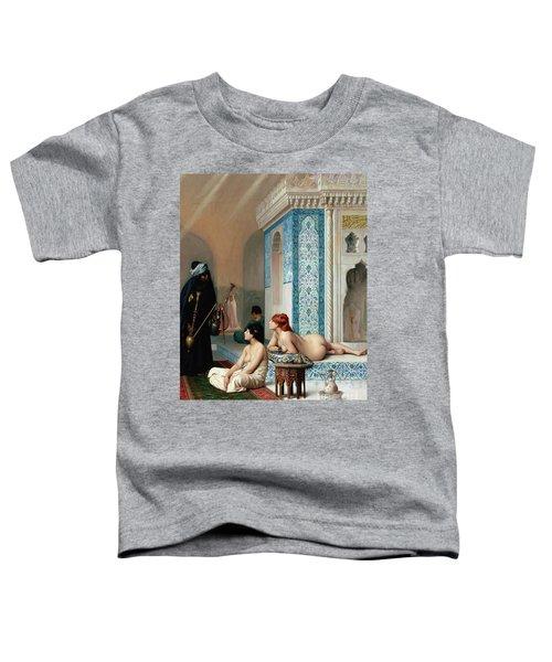 Harem Pool, Jean-leon Gerome Toddler T-Shirt