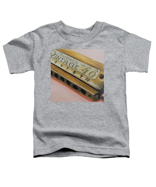 Harmonica Toddler T-Shirt
