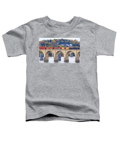 Harrisburg Trains Crossing Toddler T-Shirt