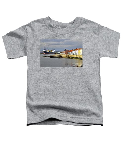 Hartlepool Harbour Evening Toddler T-Shirt