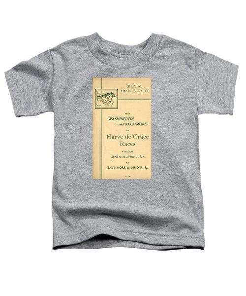 Harve De Grace Races Toddler T-Shirt