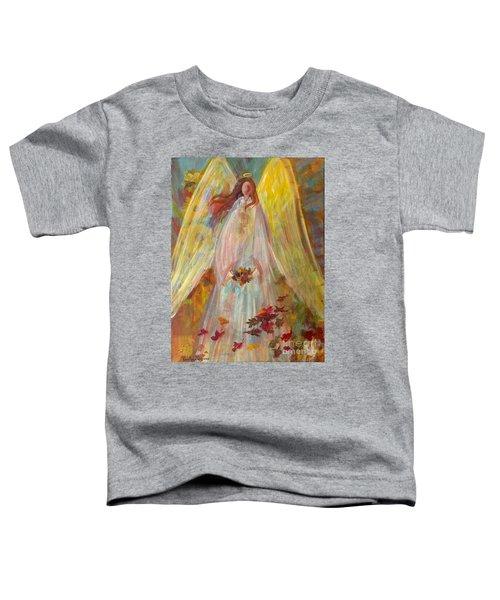 Harvest Autumn Angel Toddler T-Shirt
