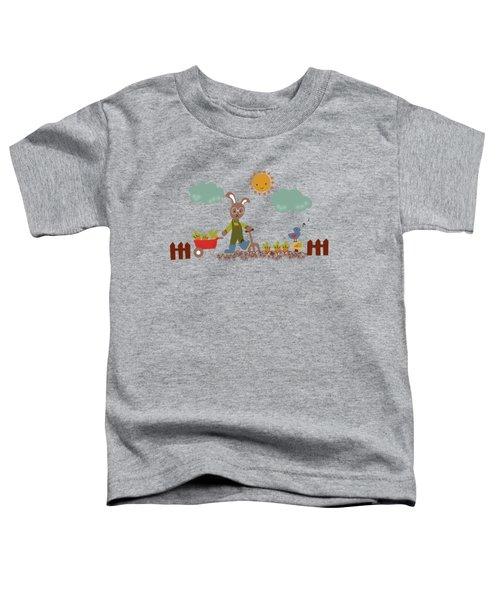 Harvest Time Toddler T-Shirt by Kathrin Legg