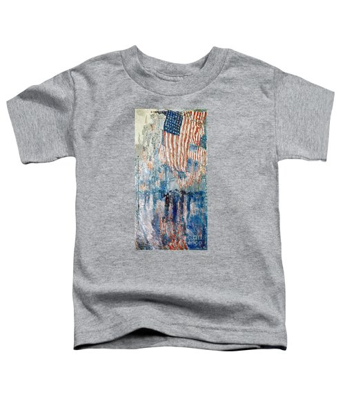 Hassam Avenue In The Rain Toddler T-Shirt