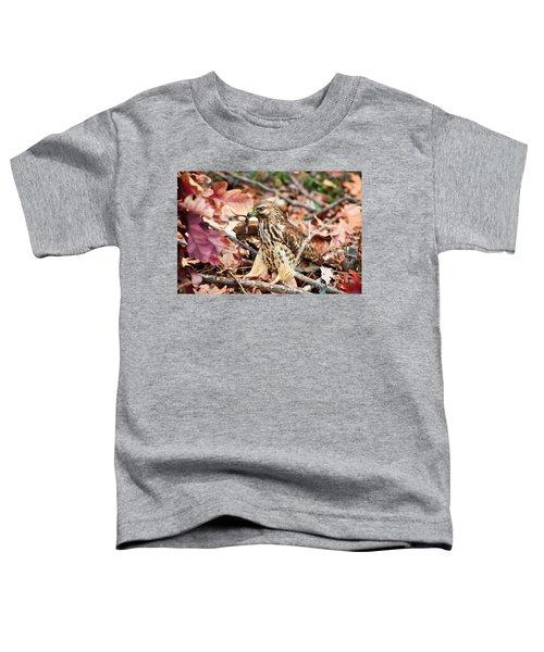 Hawk Catches Prey Toddler T-Shirt